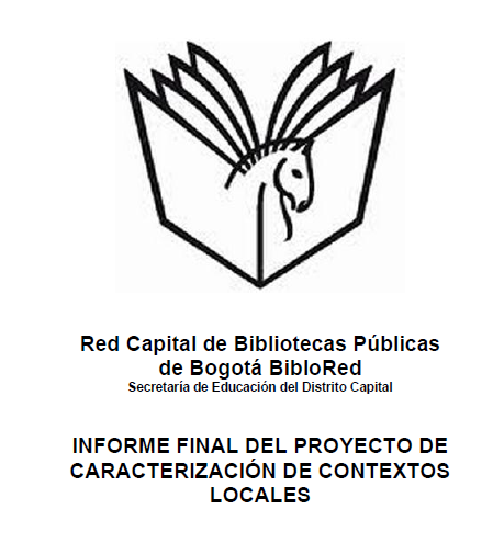 Imagen de apoyo de  Informe final del proyecto de caracterización de contextos locales
