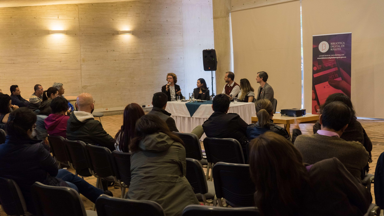 Imagen de apoyo de  Lanzamiento de la Biblioteca Digital de Bogotá