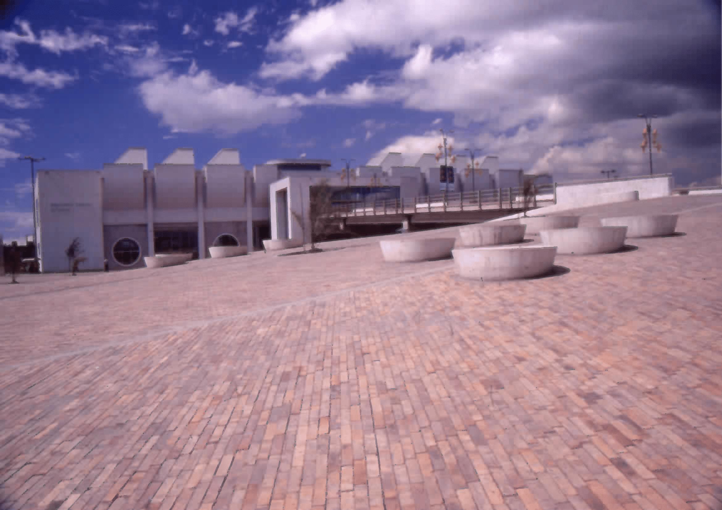 Imagen de apoyo de  Arquitectura de la Biblioteca Pública El Tintal Manuel Zapata Olivella