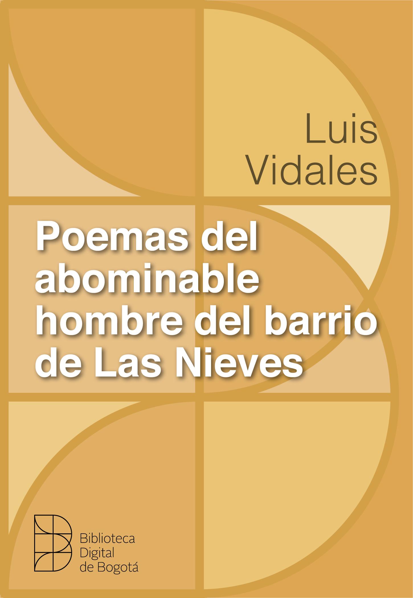 Imagen de apoyo de  Poemas del abominable hombre del barrio Las Nieves