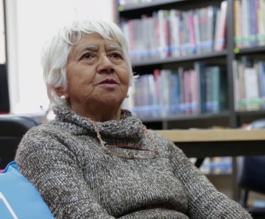 Imagen de apoyo de  María Alicia Carrillo de Zuñiga (Biblioteca Pública La Peña, Urbano)