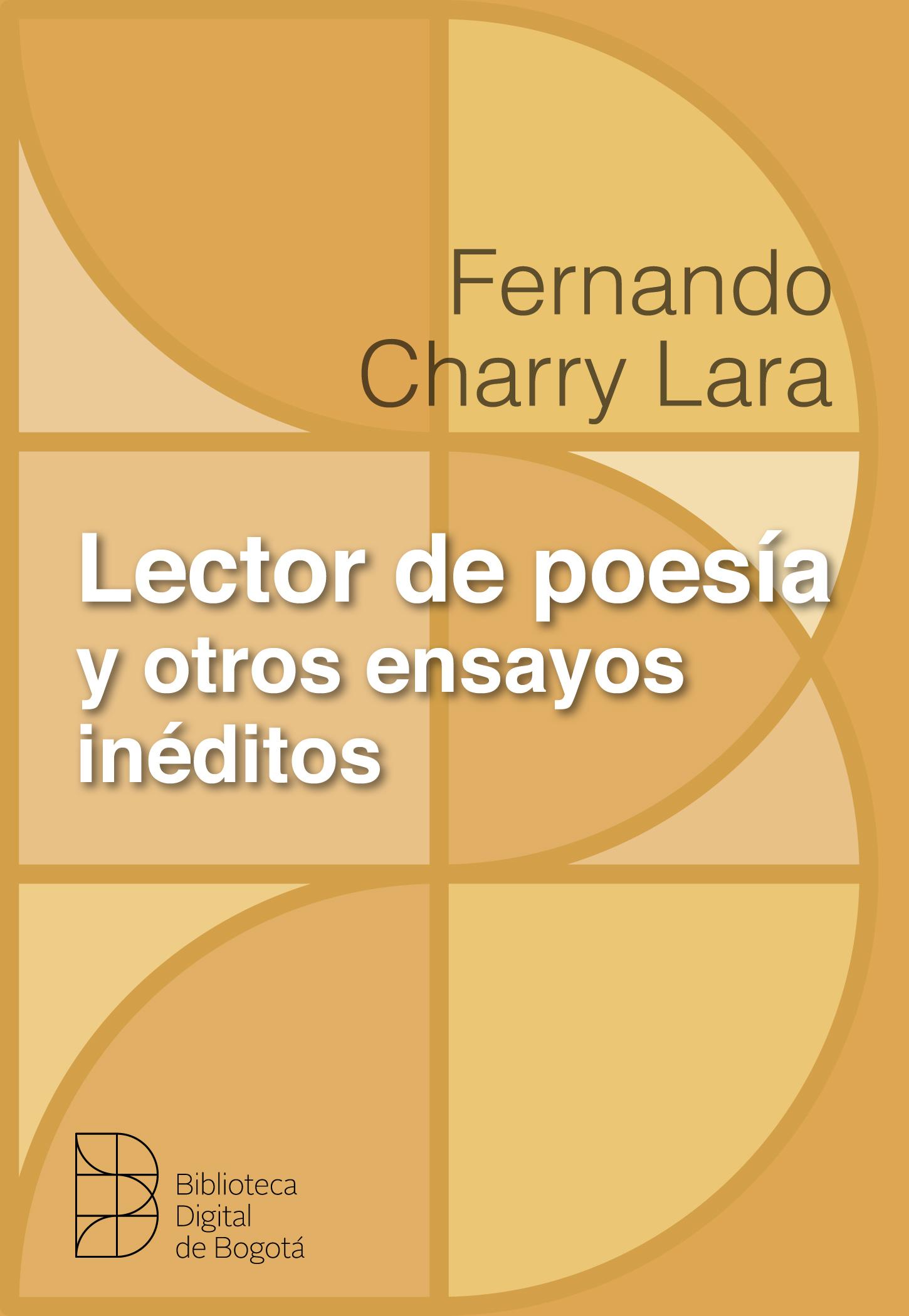 Imagen de apoyo de  Lector de poesía y otros ensayos inéditos