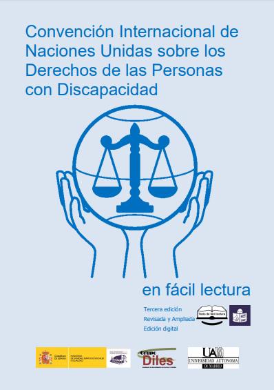 Imagen de apoyo de  Convención Internacional de Naciones Unidas sobre los derechos de las personas con discapacidad en fácil lectura