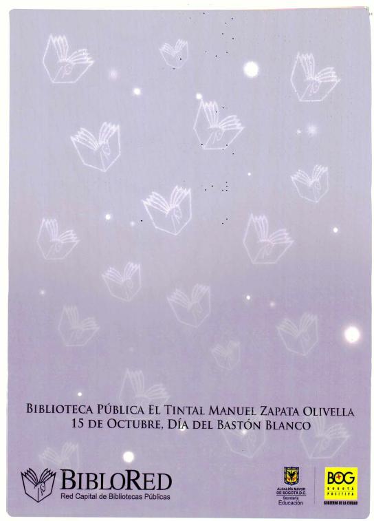 Imagen de apoyo de  Pieza de divulgación para la conmemoración del Día del Bastón Blanco