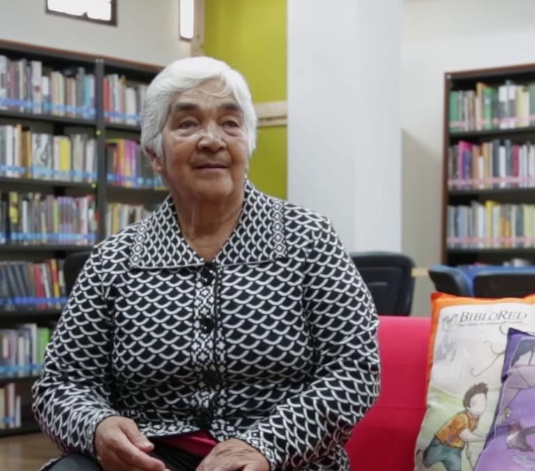 Imagen de apoyo de  Concepción Mora de Ruíz (Biblioteca Pública La Peña, Urbano)