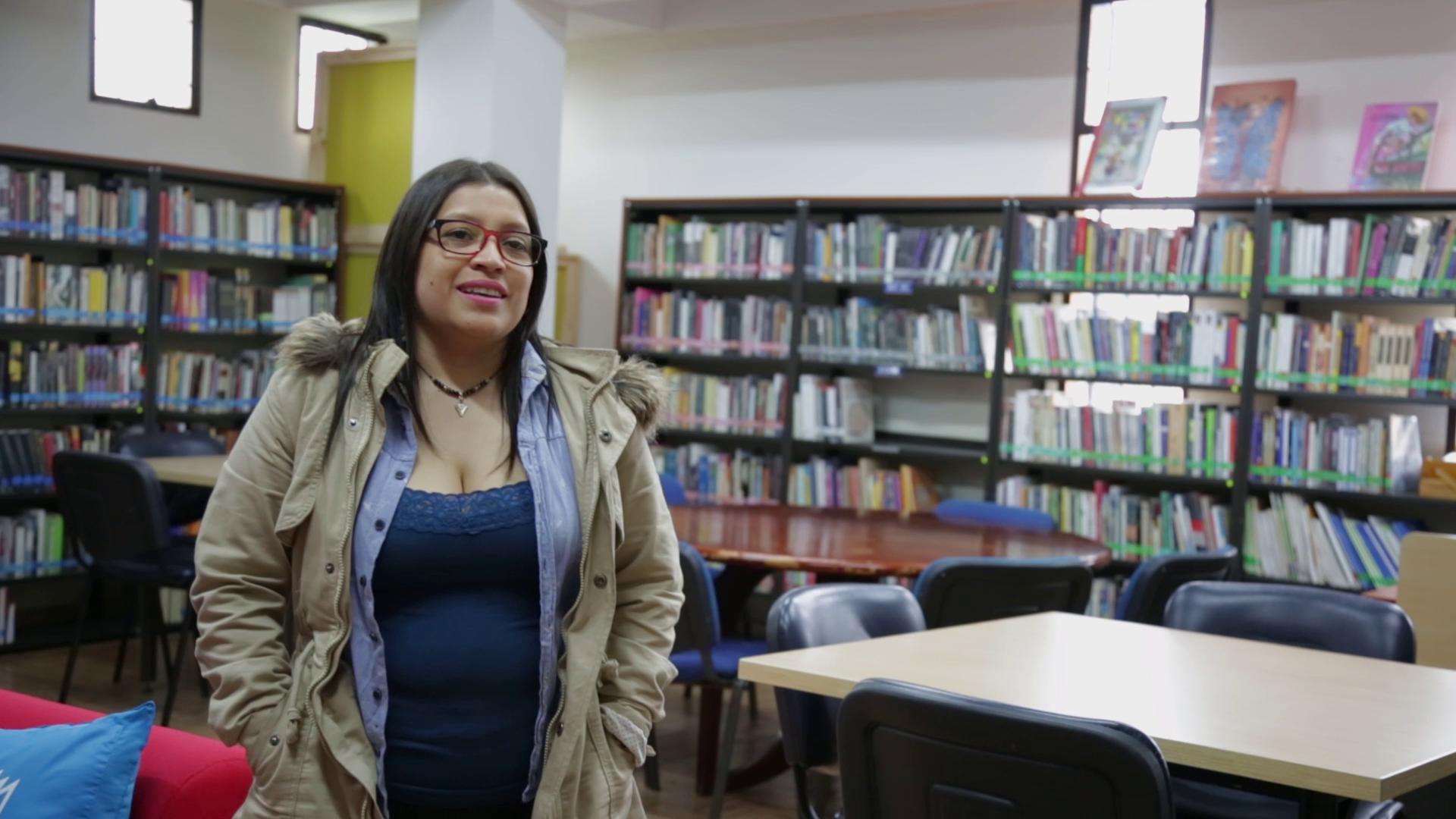 Imagen de apoyo de  Cristina Silva (Biblioteca Pública La Peña, Urbano)