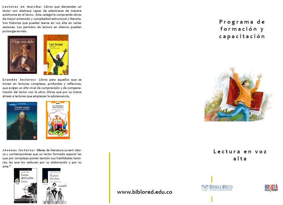 Imagen de apoyo de  Programa de formación y capacitación: lectura en voz alta