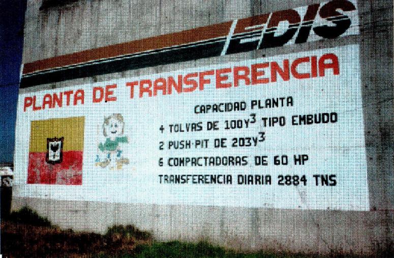 Imagen de apoyo de  Diagnóstico del estado actual de la planta de transferencia de basuras