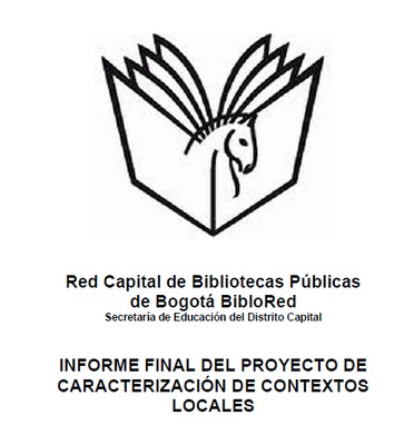 Informe final del proyecto de caracterización de contextos locales