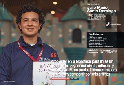 Brochure Biblioteca Pública Julio Mario Santo Domingo