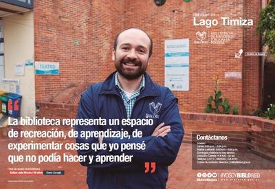 Brochure Biblioteca Pública Lago Timiza