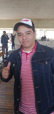 Testimonio de Ricardo Alvarado sobre su experiencia en un voluntariado de la policía que cuidaba Rock al Parque.