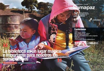 Brochure Biblioteca Público Escolar Sumapaz