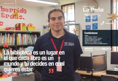 Brochure Biblioteca Pública La Peña