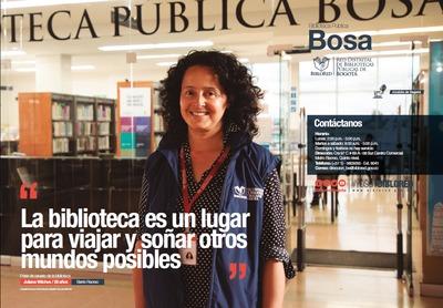 Brochure Biblioteca Pública Bosa