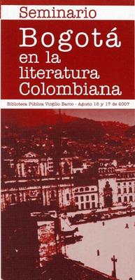 Seminario Bogotá en la Literatura