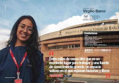 Brochure Biblioteca Pública Virgilio Barco