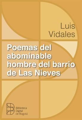 Poemas del abominable hombre del barrio Las Nieves