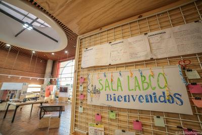 Nido de la Sala LabCo : espacio abierto experimental