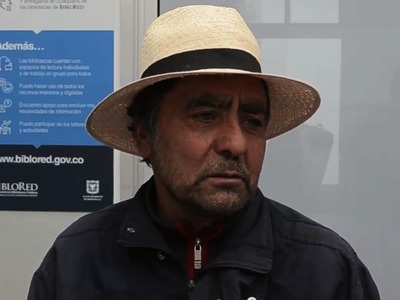 """Entrevista a Eberto Romero, habitante de la vereda """"La Unión"""" en Sumapaz"""