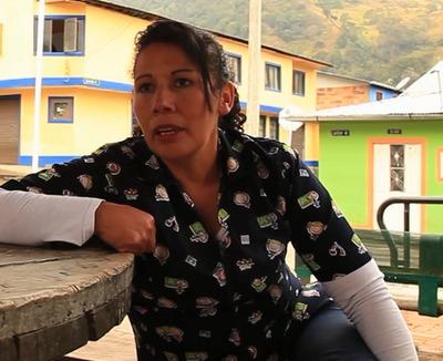"""Entrevista a Esperanza Rubiano, habitante de la vereda """"Nazareth"""" en Sumapaz"""