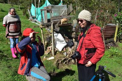 Entrevista a Karen Guzmán en la Vereda Paquiló en Sumapaz
