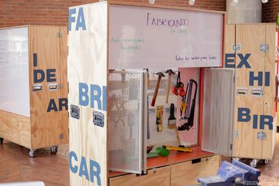 Módulos de la Sala LabCo : espacio abierto experimental