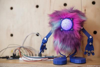 Frankybot : mascota de la Sala LabCo