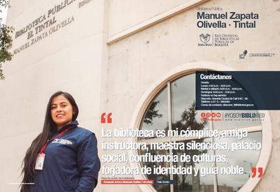 Brochure Biblioteca Pública El Tintal Manuel Zapata Olivella
