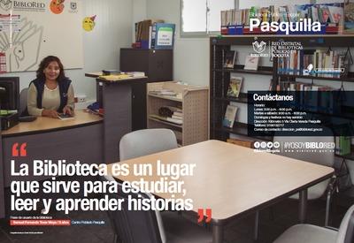 Brochure Biblioteca Público Escolar Pasquilla