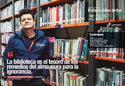 Brochure Biblioteca Pública Rafael Uribe Uribe