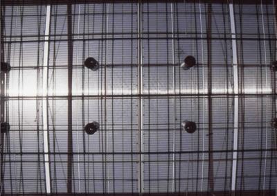 Detalle del techo de la Biblioteca Pública El Tunal Gabriel García Márquez