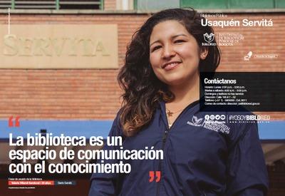 Brochure Biblioteca Pública Usaquén - Servitá
