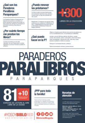 Brochure de los PPP: Paraderos, paralibros, paraparques
