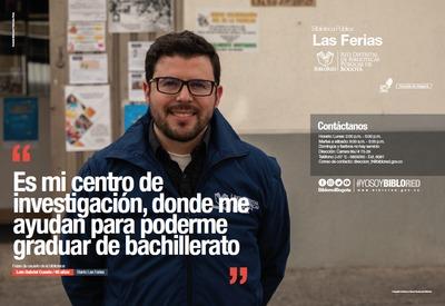 Brochure Biblioteca Pública Las Ferias