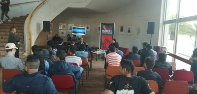 """Conferencia """"Los antecedentes de Rock al Parque: años 80"""", realizada por Pepe Plata en la Biblioteca Pública El Tintal Manuel Zapata Olivella el 18 de julio de 2019"""