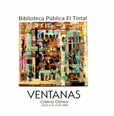 """Exposición """"Ventanas"""" de la artista Cristina Ochoa"""