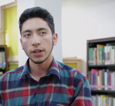 Cristíán Garzón (Biblioteca Pública La Peña, Urbano)