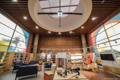 Sala LabCo : espacio abierto experimental. Fotografía 1