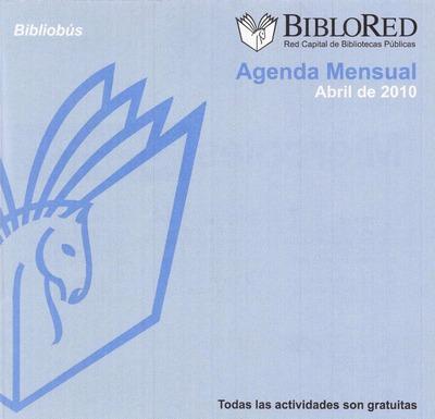 Agenda mensual Bibliobus. Abril 2010