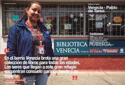 Brochure Biblioteca Pública Venecia Pablo de Tarso