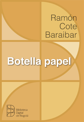 Botella papel