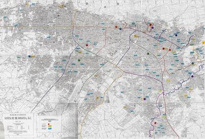 Mapa bibliotecas públicas y escolares del Distrito