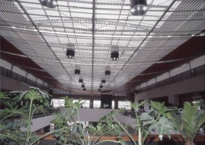Interior de la Biblioteca Pública El Tunal Gabriel García Márquez. Fotografía 2