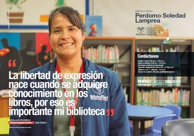 Brochure Biblioteca Pública Perdomo Soledad Lamprea