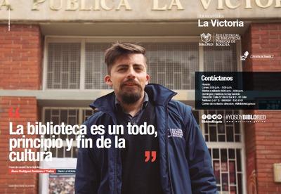 Brochure Biblioteca Pública La Victoria
