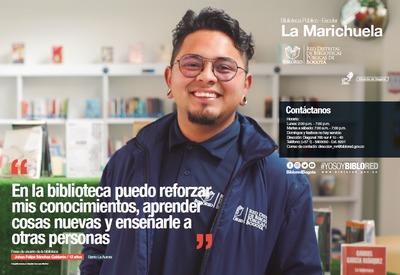 Brochure Biblioteca Público Escolar La Marichuela