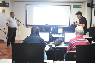 Laboratorio creación de contenidos radiales en la Biblioteca Pública Carlos E. Restrepo