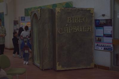 Laboratorio co-creación en la Biblioteca Pública Julio Mario Santo Domingo. Fotografía 2.