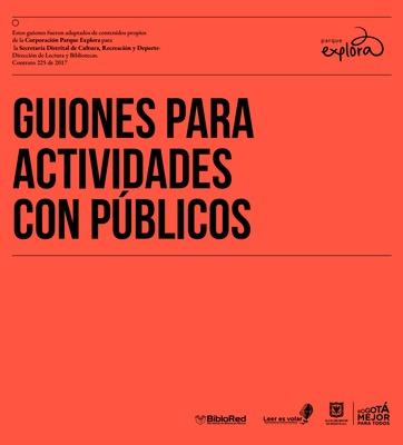 Guiones para actividades con públicos